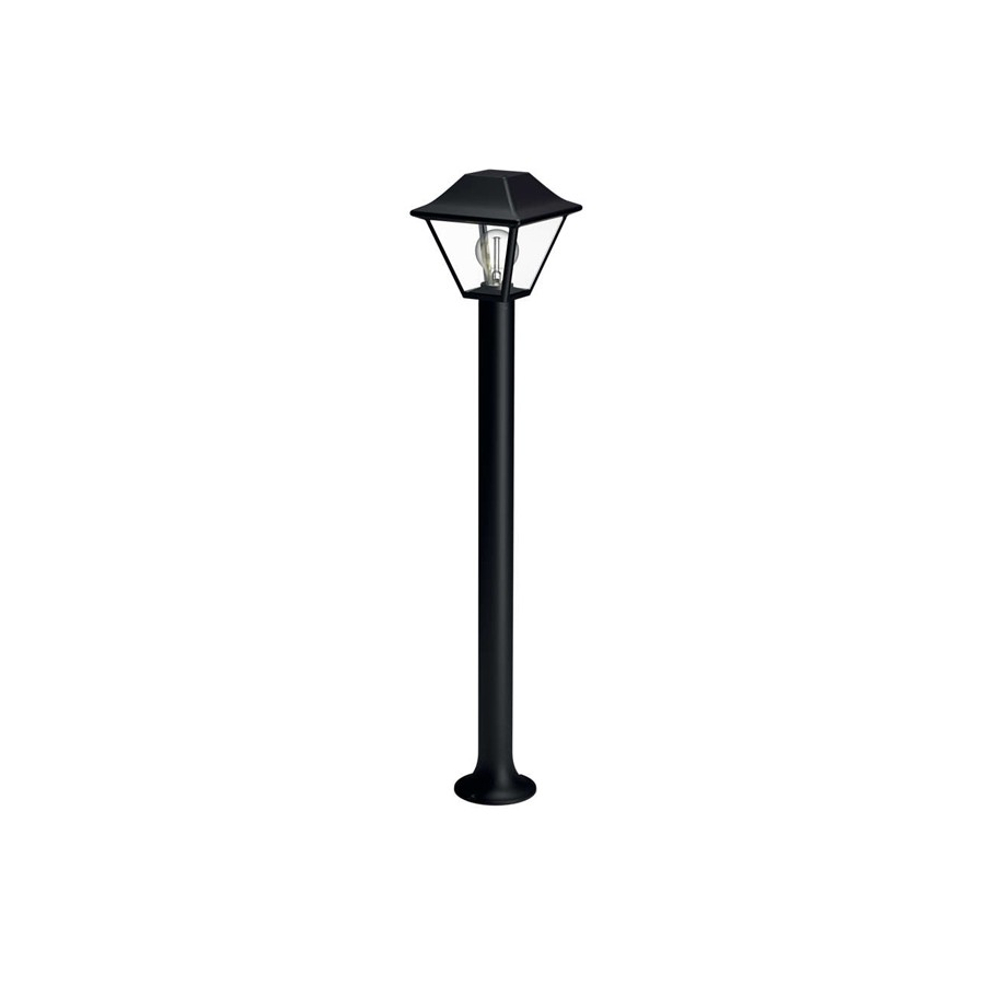 Stalp de iluminat ornamental Alpenglow 1649730PN, 1 x E27, 90 cm