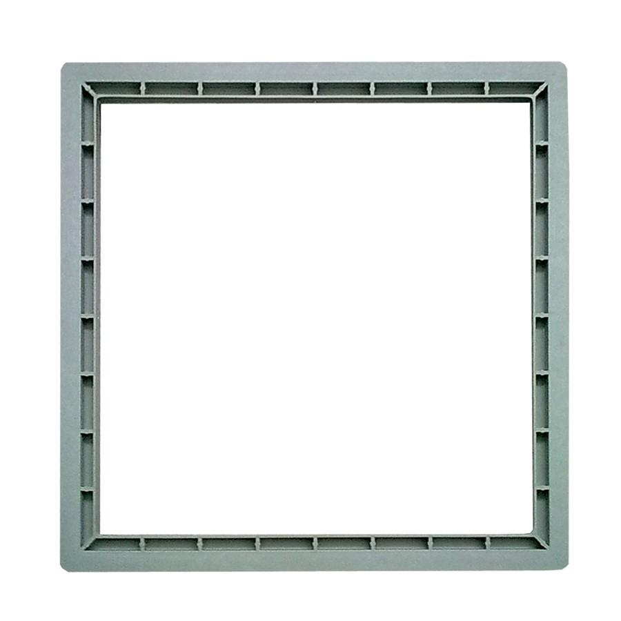 Prelungire pentru camin, monolitic, co-polimer, H 100 mm, 400 x 400 mm