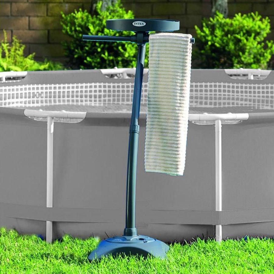 Suport prosop si bauturi, pentru piscina, Intex 28092, PVC, 127 x 60 cm