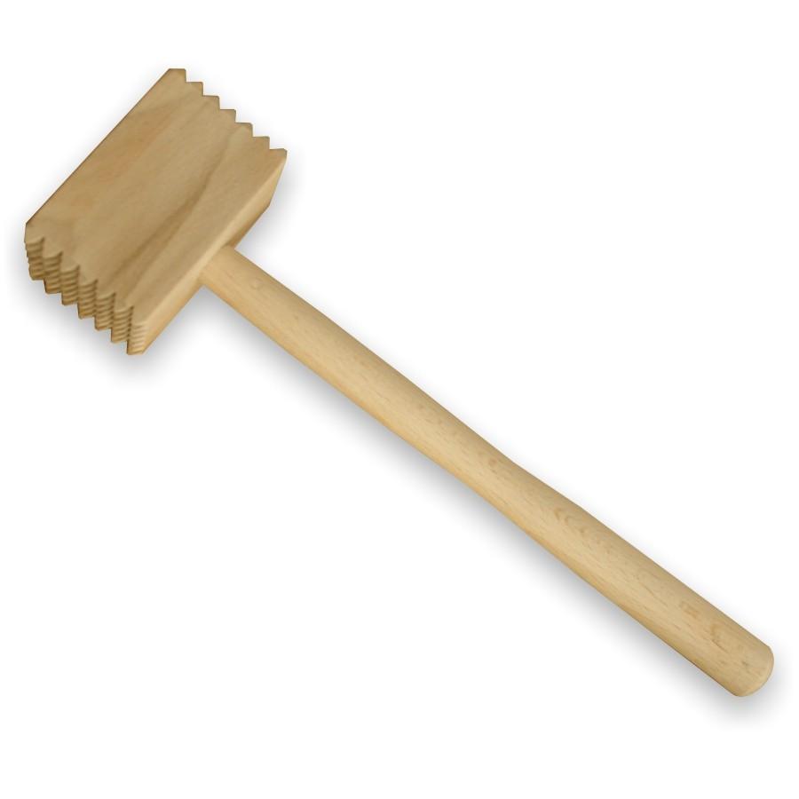 Ciocan patrat, pentru snitel, lemn, 6012, 28 x 6.5 cm