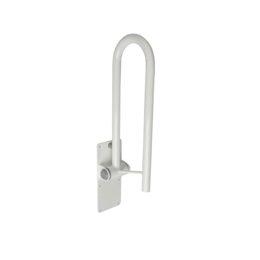Bara sustinere, pliabila, pentru WC, Davo Pro Ridder A0130101, alb, 55 x 30 x 12.8 cm