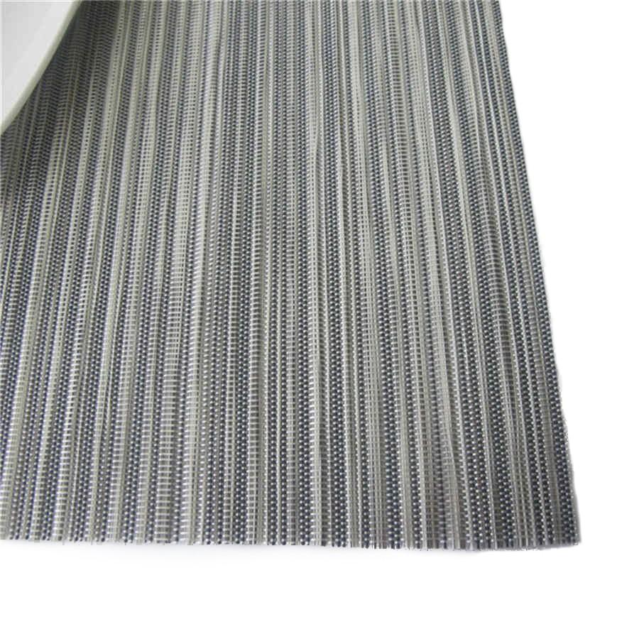 Suport masa GB-044, pvc + poliester, argintiu, 45 x 30 cm