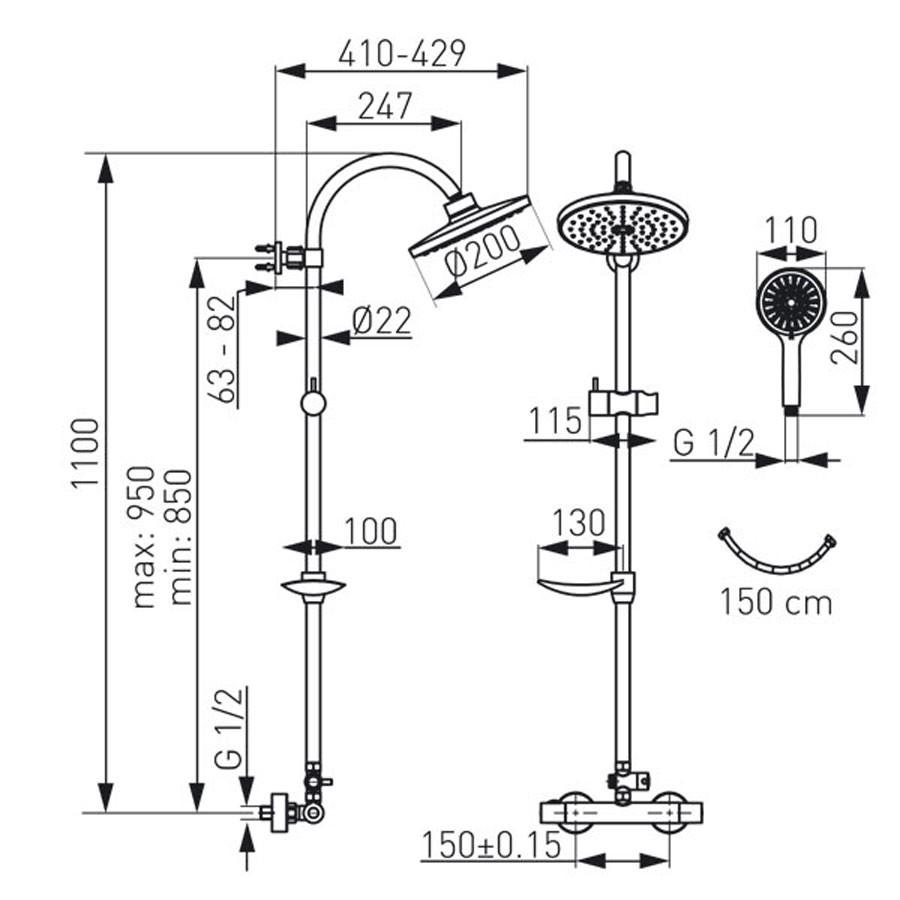 Sistem dus, Ferro Trinity Dual NP71-TRM7U