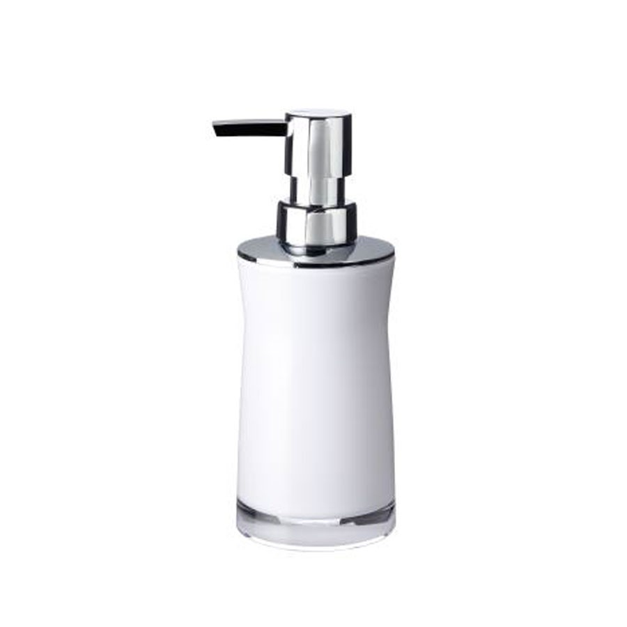 Dozator sapun lichid Davo Pro Disco 2103501, alb, acrilic