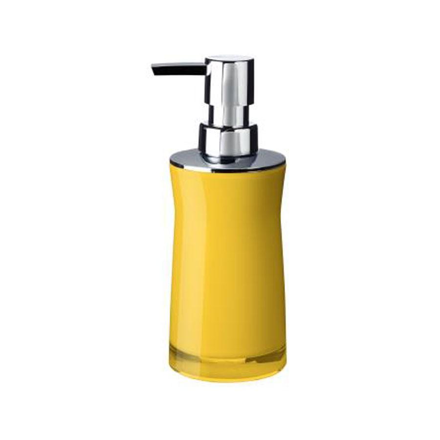 Dozator sapun lichid Davo Pro Disco 2103504, galben, acrilic