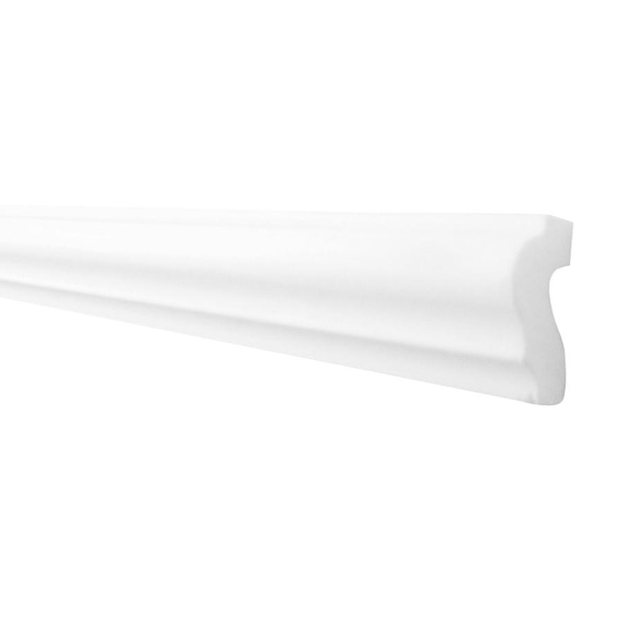 Bagheta polistiren decorativa LX42 modern alb 200 x 4 x 2 cm