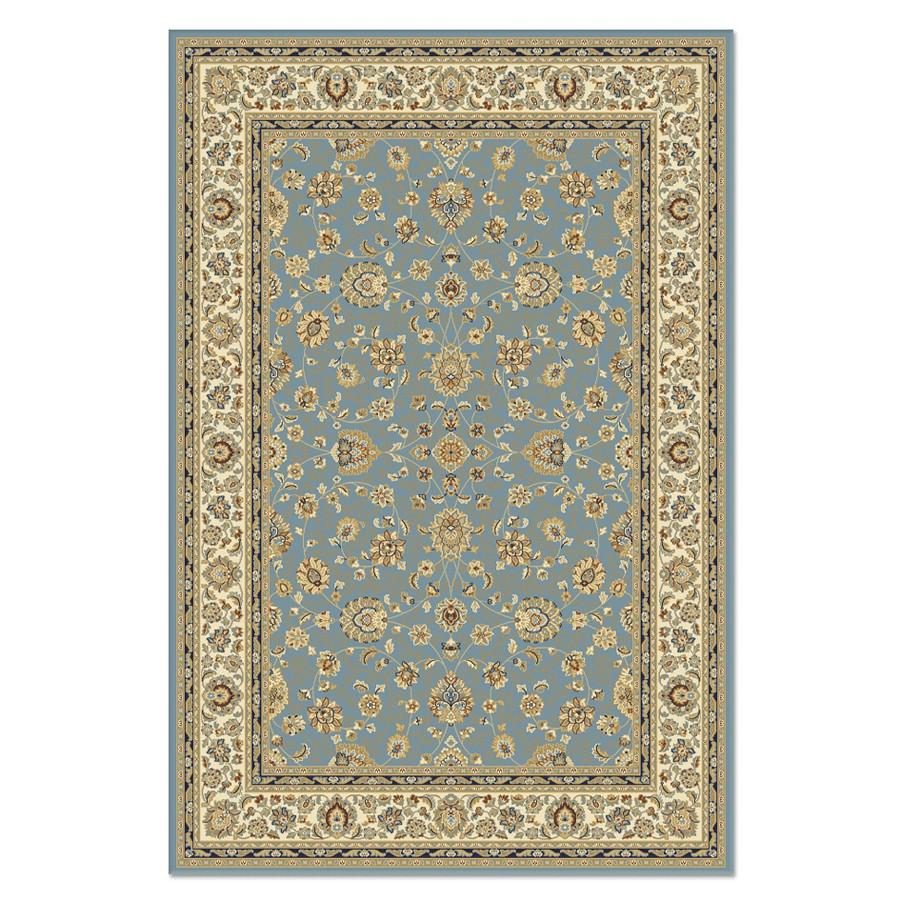 Covor living / dormitor Carpeta Atlas 81621-41266 polipropilena heat-set dreptunghiular albastru 160 x 230 cm