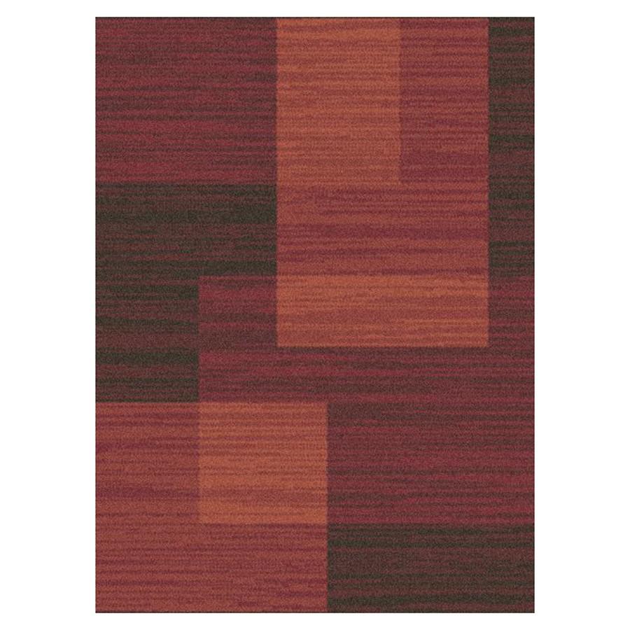 Covor living / dormitor McThree Modena 7835 H779 polipropilena dreptunghiular bordo 160 x 230 cm