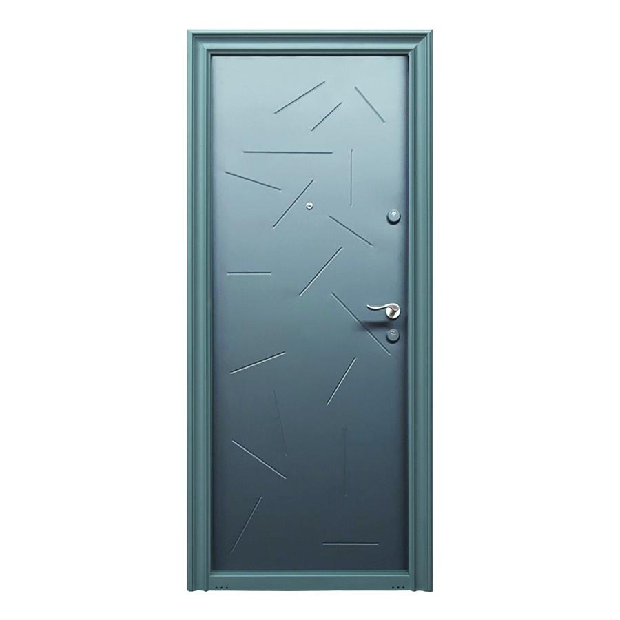 Usa metalica pentru exterior Tracia Argias, stanga, diverse culori, 205 x 88 cm + accesorii