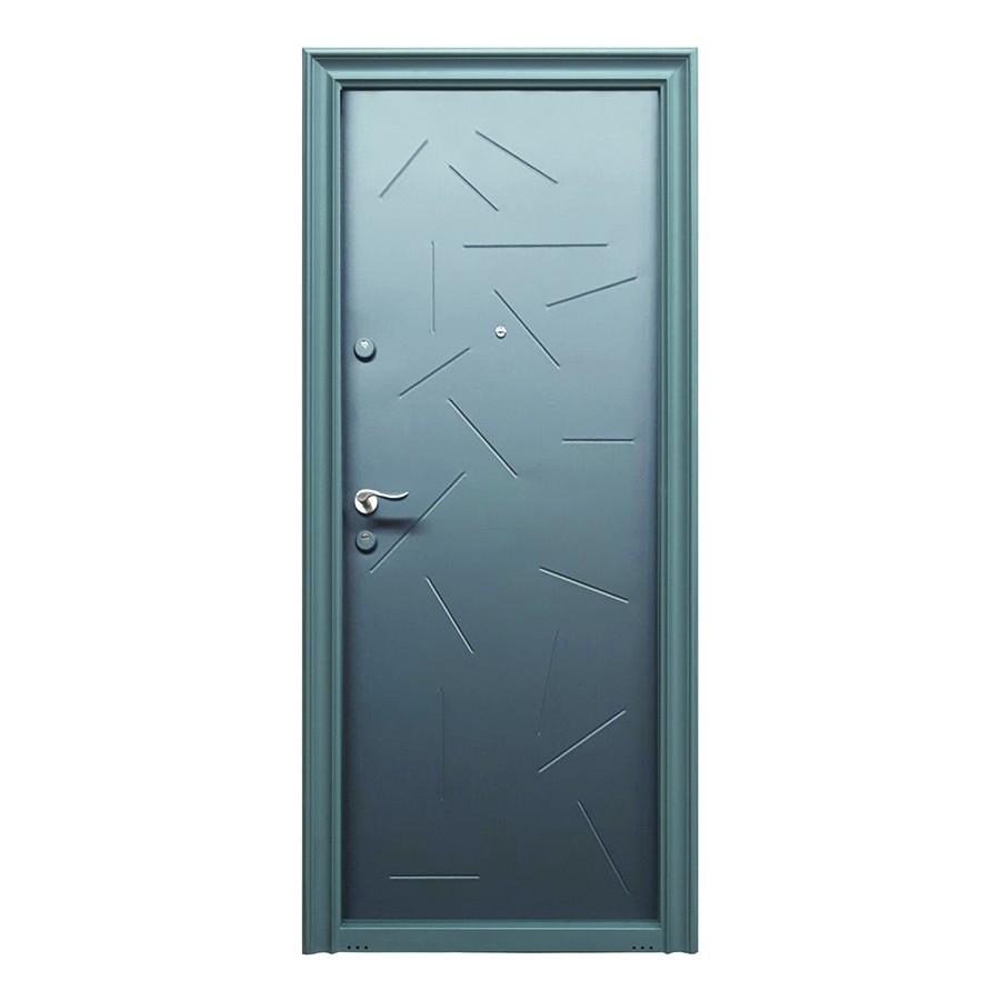Usa metalica pentru exterior Tracia Argias, dreapta, diverse culori, 205 x 88 cm + accesorii
