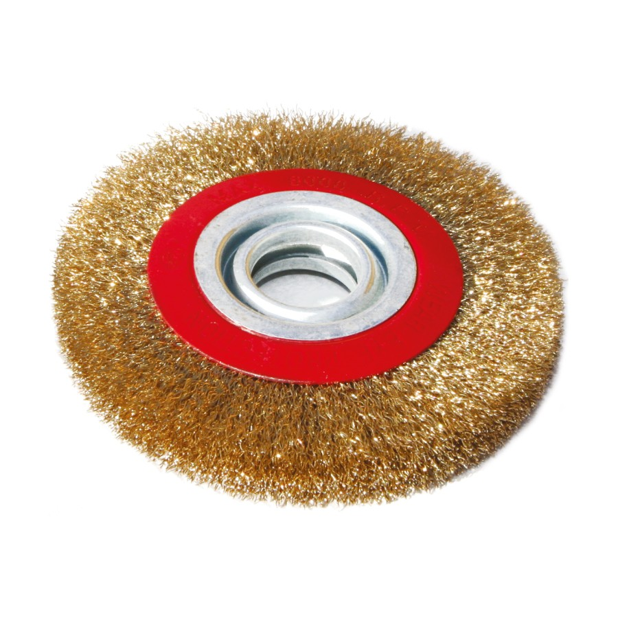 Perie circulara, pentru polizor de banc, Lumytools LT06979, diametru 150 mm