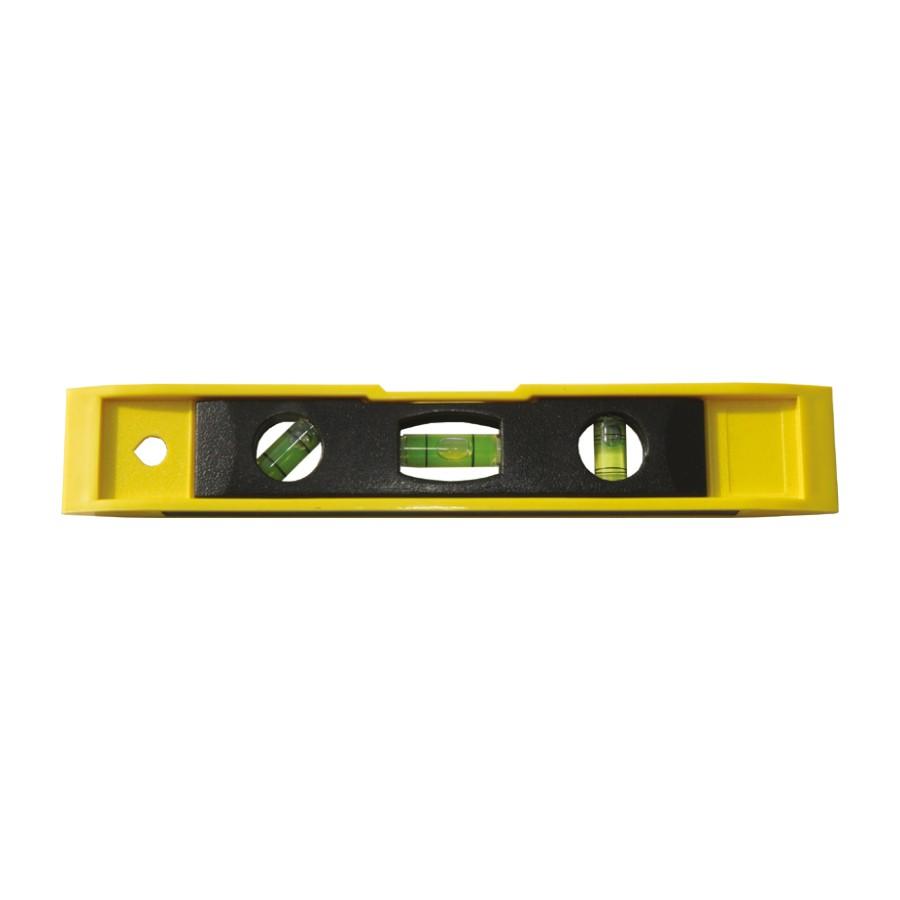 Nivela cu bula, Lumytools LT16575, cu 3 indicatori, din aluminiu, 225 mm