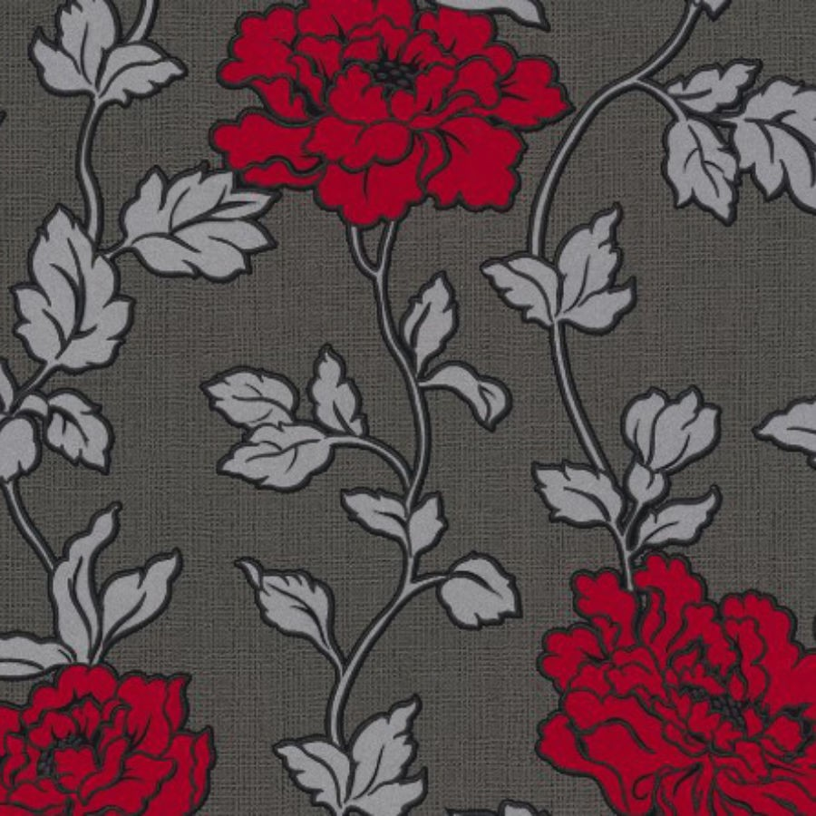 Tapet hartie, model floral, AS Creation 366957, 10 x 0.53 m