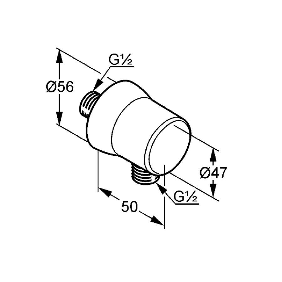 Pachet baterii baie + corp incastrat + cap dus + brat cap dus + cot racord furtun + para dus + bara + furtun Kludi Logo Neo 37630, 1.6 m