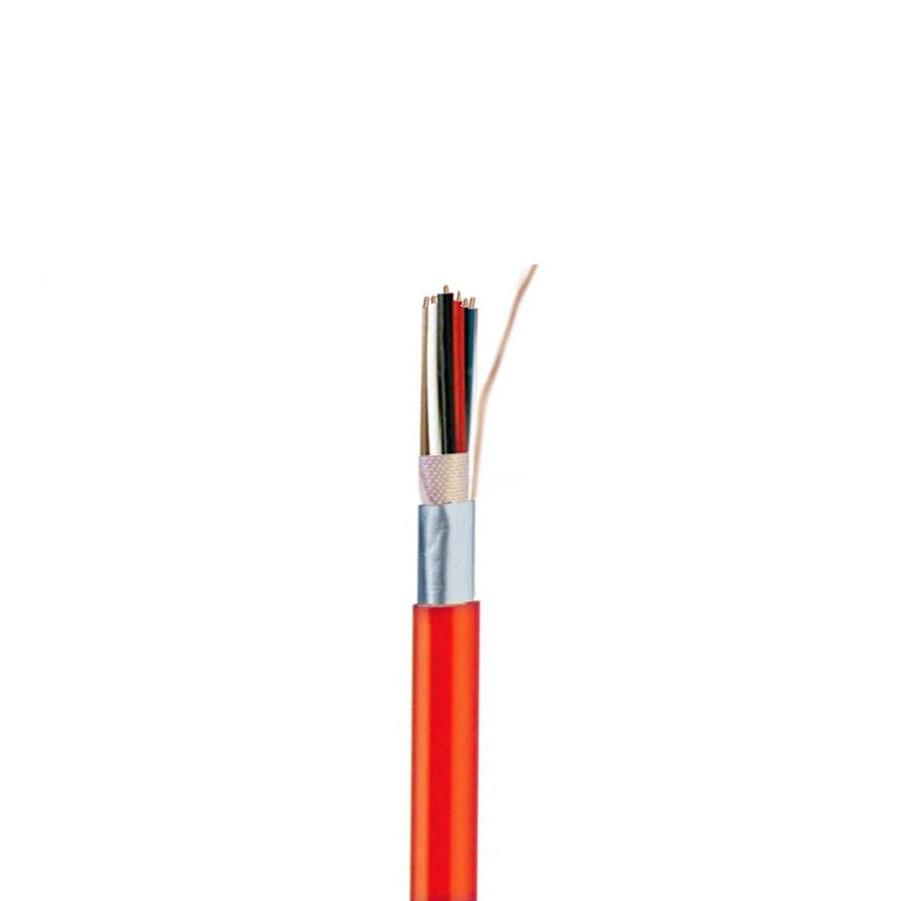 Cablu rosu semnalizare incediu JB-Y(ST)Y 2 x 2 x 0.8 mmp BMK