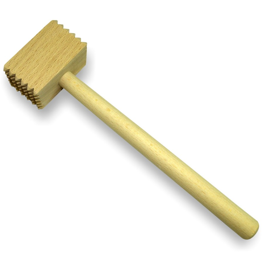 Ciocan patrat, pentru snitel, lemn, 6013, 30 x 8 cm