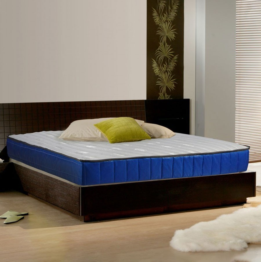 Saltea pat Bedora Ecoline, ortopedica, 1 persoana, cu spuma poliuretanica, fara arcuri, 90 x 200 cm