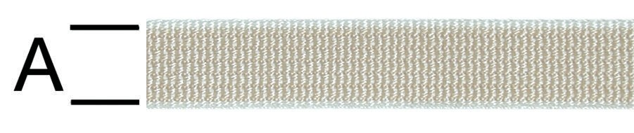 Chinga polipropilena bej 20 mm