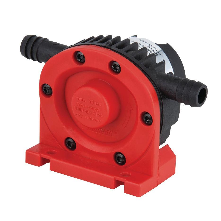 Pompa de apa, din plastic, Wolfcraft 2202000, 6 mm, 1300 l/h