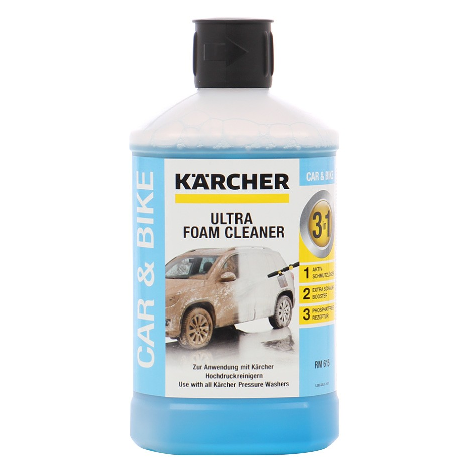 Spuma activa Ultra Foam, Karcher 3-in-1, 6.295-743.0, 1 litru