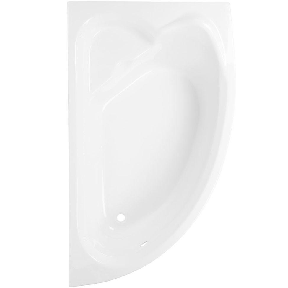 Cada baie asimetrica, pe colt, varianta montaj pe dreapta, Martplast Corsica, masca si suport incluse, acril, 165 x 96 cm