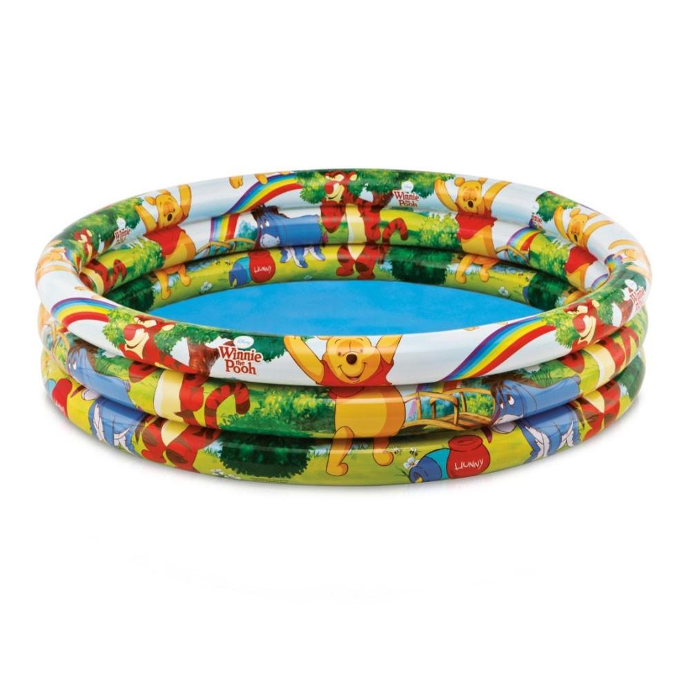 Piscina gonflabila Intex Winnie the Pooh 58915 NP, pentru copii, 147 x 33 cm