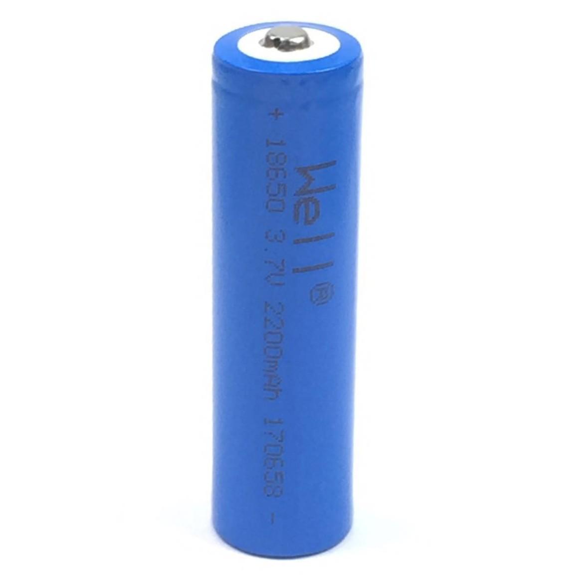 Dedeman Acumulator Li Ion Well 18650 3 7v 2200 Mah Dedicat