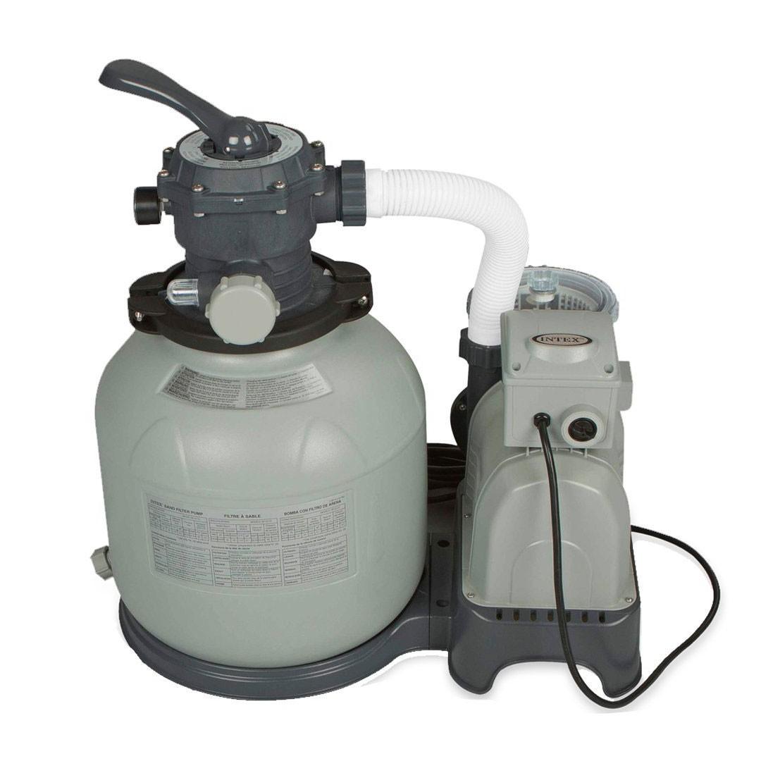 Dedeman pompa filtrare apa piscina intex 56672 28648 filtru cu nisip 10 mc h dedicat - Pompa piscina intex ...