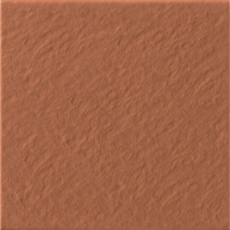 Dedeman Gresie Exterior Interior Portelanata Klinker Simple 3d Mata Rosie 30 X 30 Cm