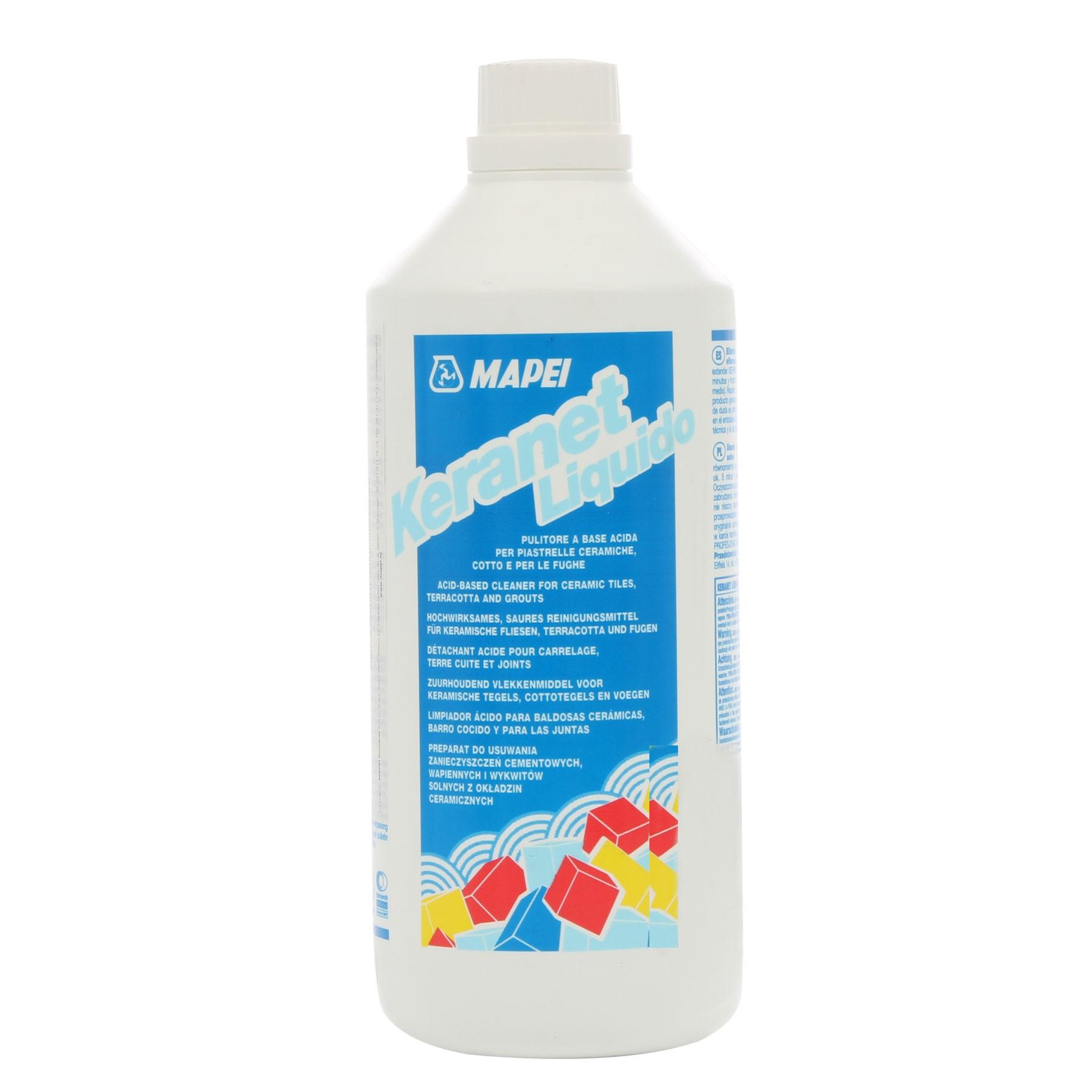 Keranet Come Si Usa.Detergent Pentru Curatarea Murdarii Pe Baza De Ciment Keranet Liquido 1l