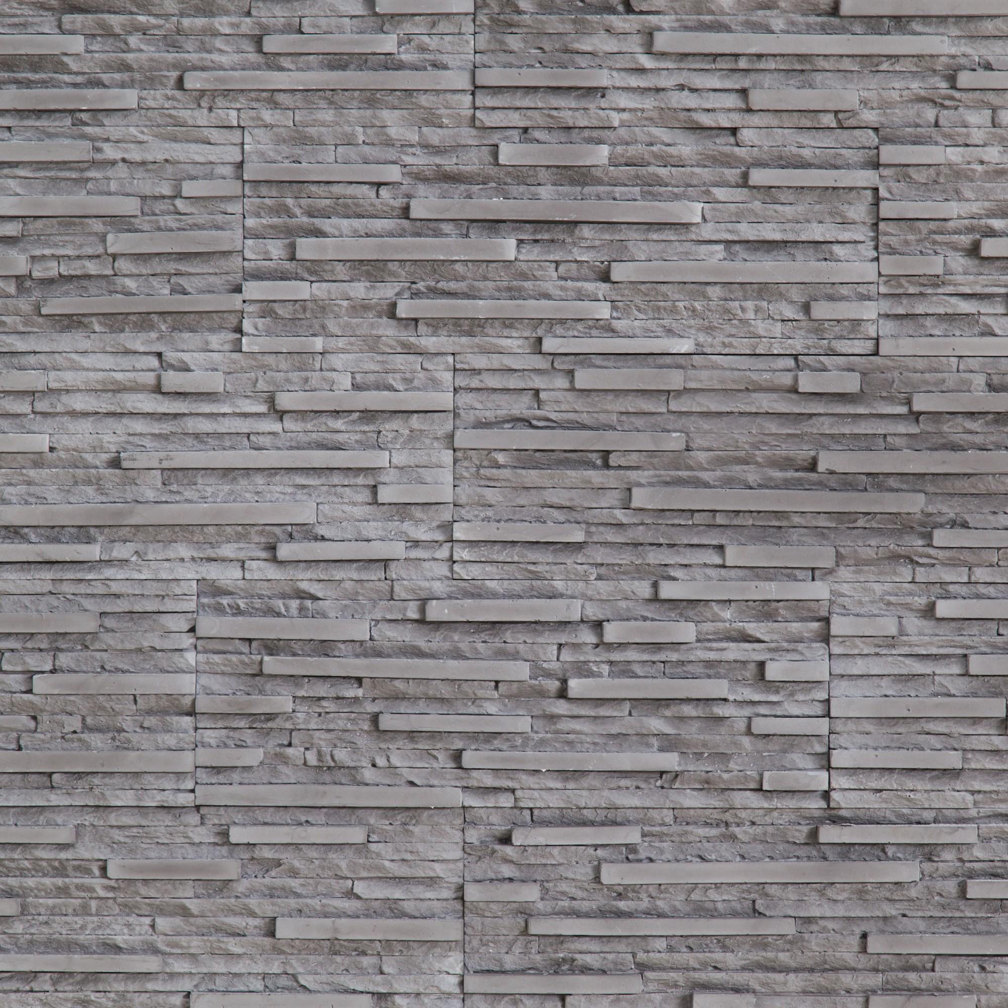 Modele Tencuiala Decorativa Interior.Dedeman Piatra Decorativa Interior Modulo Coral Grey Gri Cutie