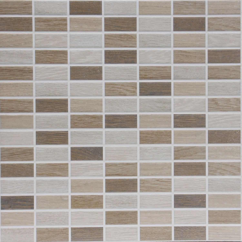 Dedeman Faianta Bucatarie Mozaic 2069 Legno Bej Mata 34 X 34 Cm