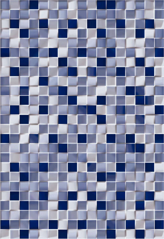 Dedeman Faianta Baie Mozaic Cubic Albastra Lucioasa 25 X 36 5 Cm