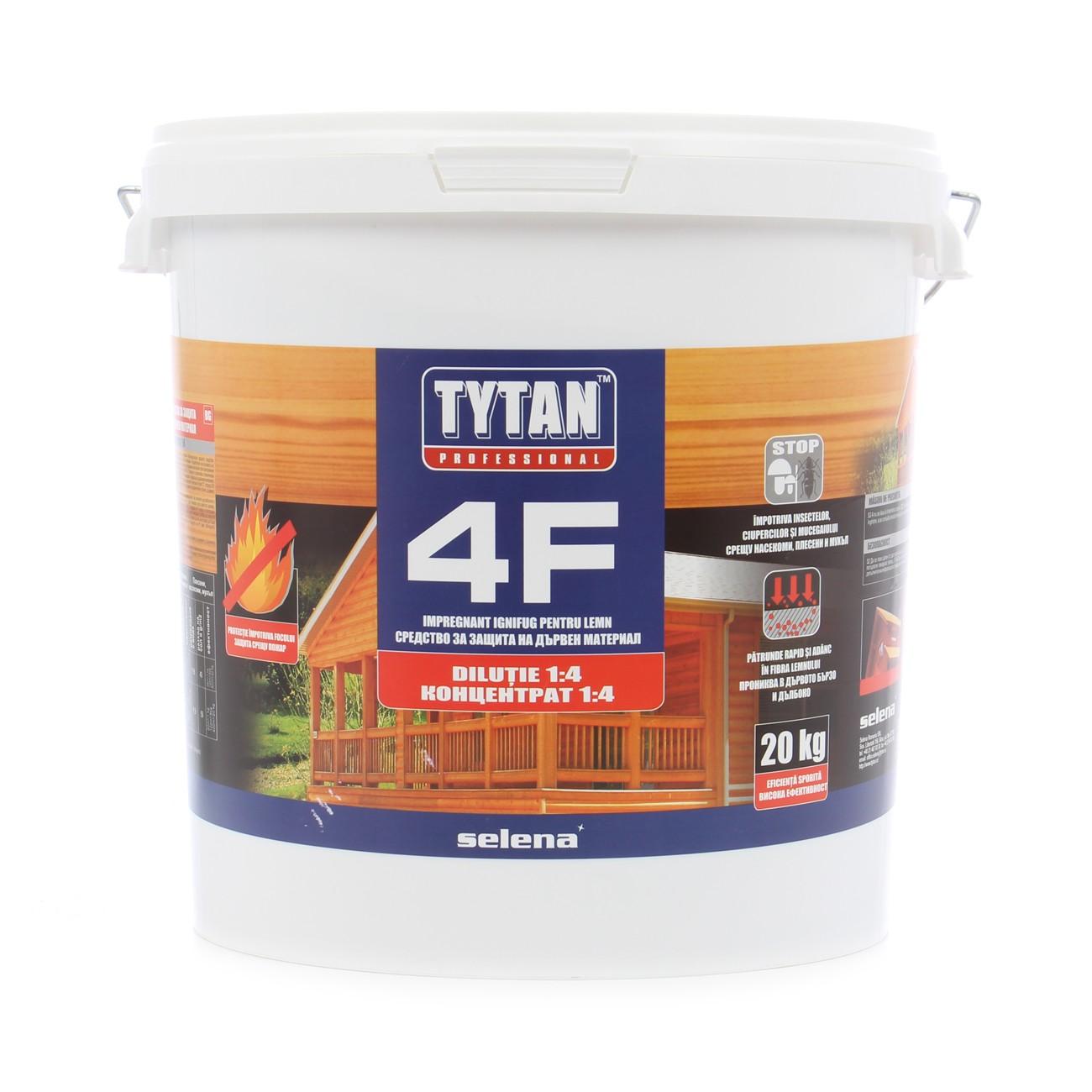 Dedeman Agent ignifug pentru lemn, Tytan 4F, transparent