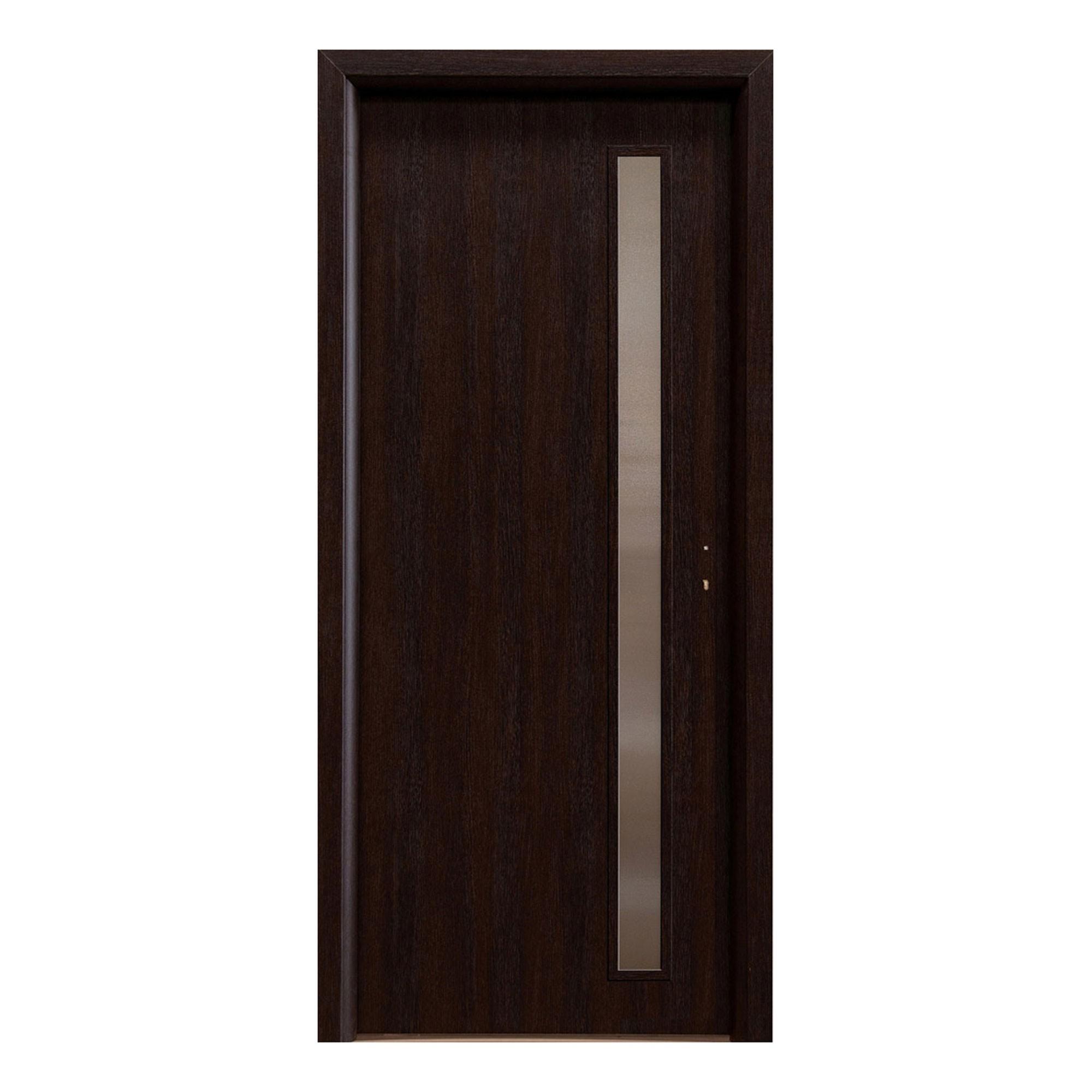 Dedeman Usa Interior Celulara Cu Geam Eco Euro Doors R80 Stanga