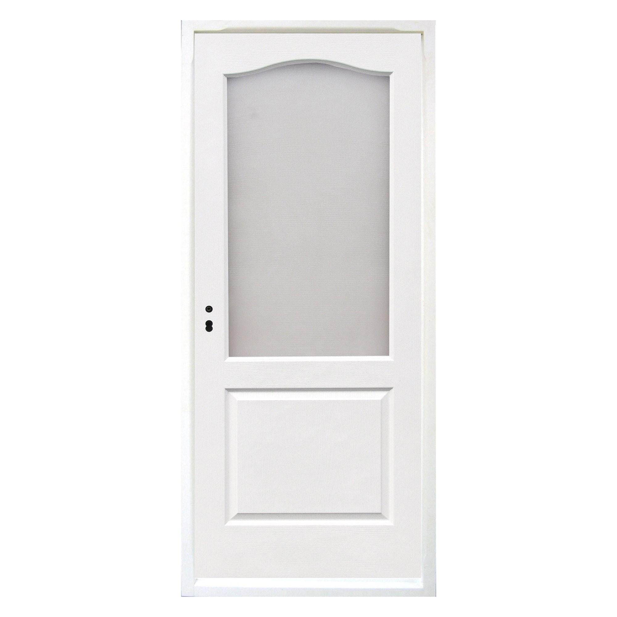 Dedeman Usa Interior Celulara Cu Geam Eco Euro Doors Dreapta Alb