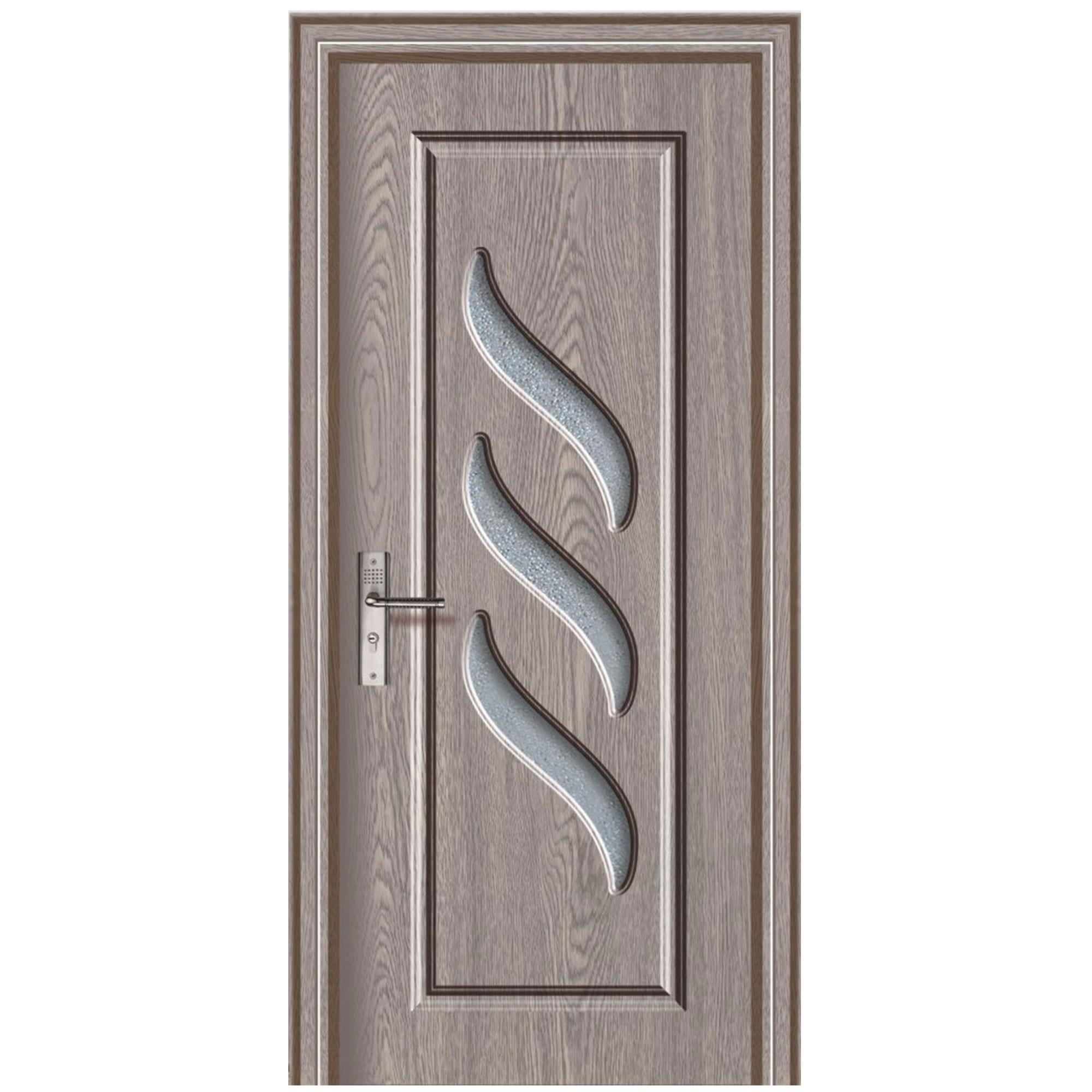 Dedeman Usa De Interior Din Lemn Cu Geam Super Door F12 68 P Stanga
