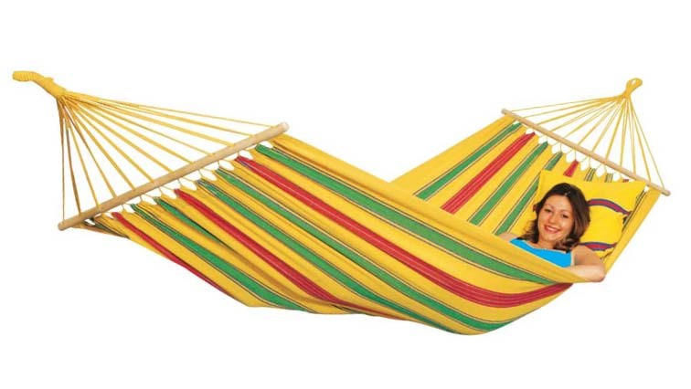 Dedeman Hamac Cu Bare Din Lemn Aruba Vanilla El 1072000 210 X 120 Cm Dedicat Planurilor Tale