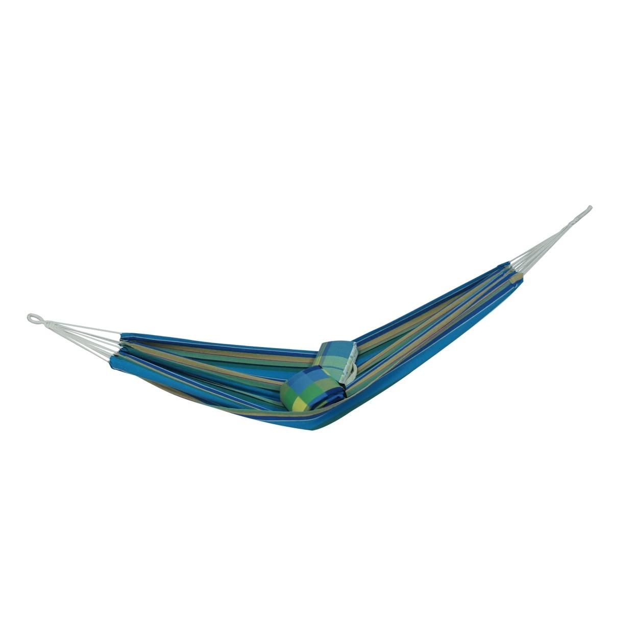 Dedeman Hamac D60002 Albastru Cu Dungi 100 X 200 Cm Dedicat Planurilor Tale