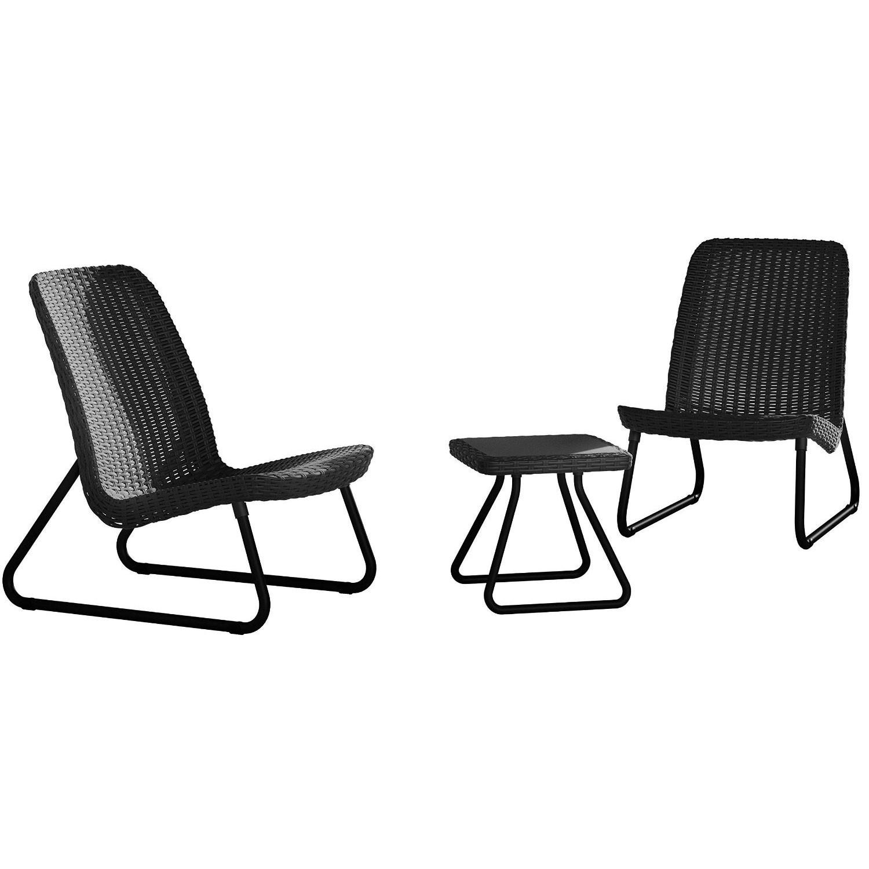 Dedeman set masa cu 2 scaune pentru gradina rio curver din for Masa cu scaune dedeman