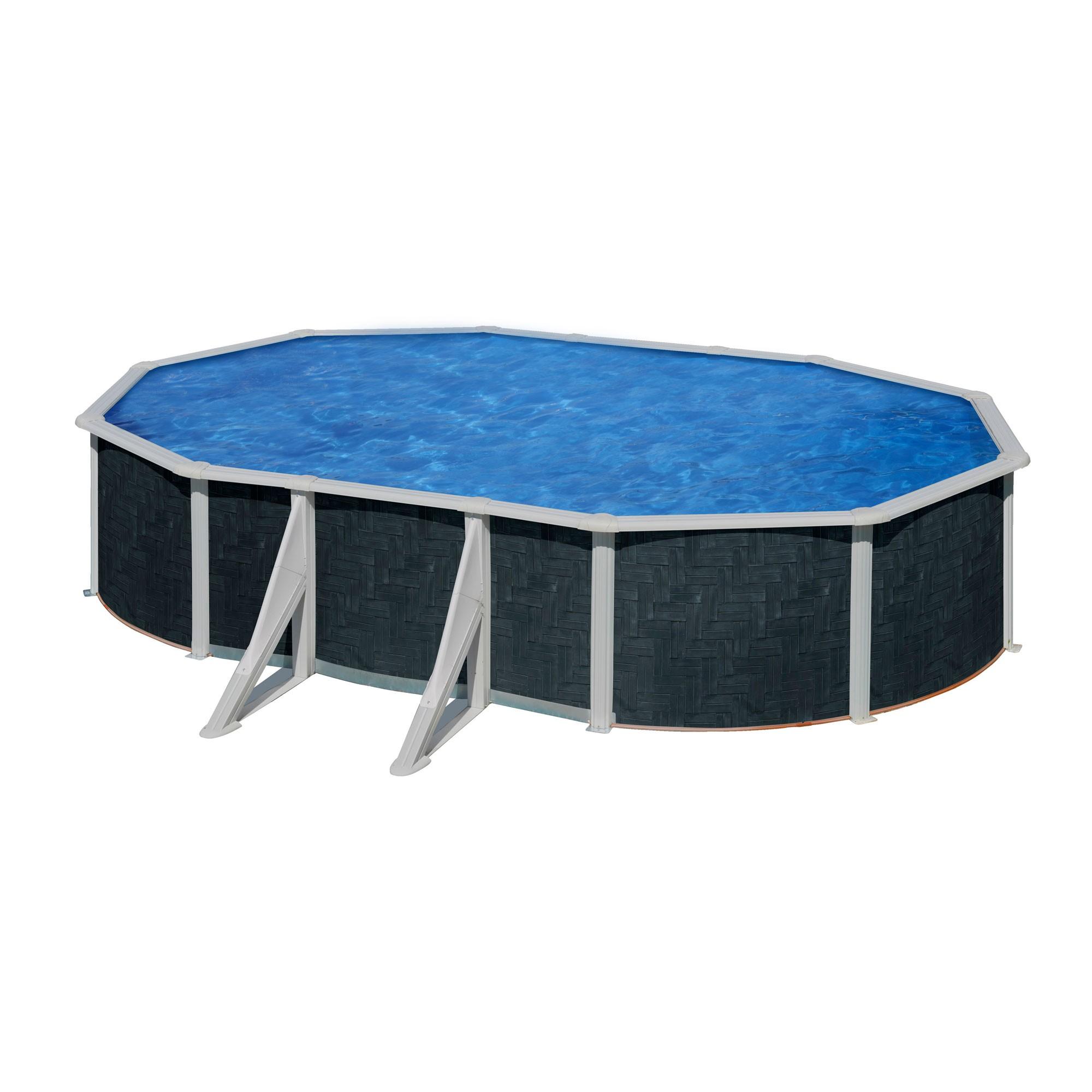 Dedeman piscina cu cadru metalic manufacturas gre ovala for Piscinas gre carrefour