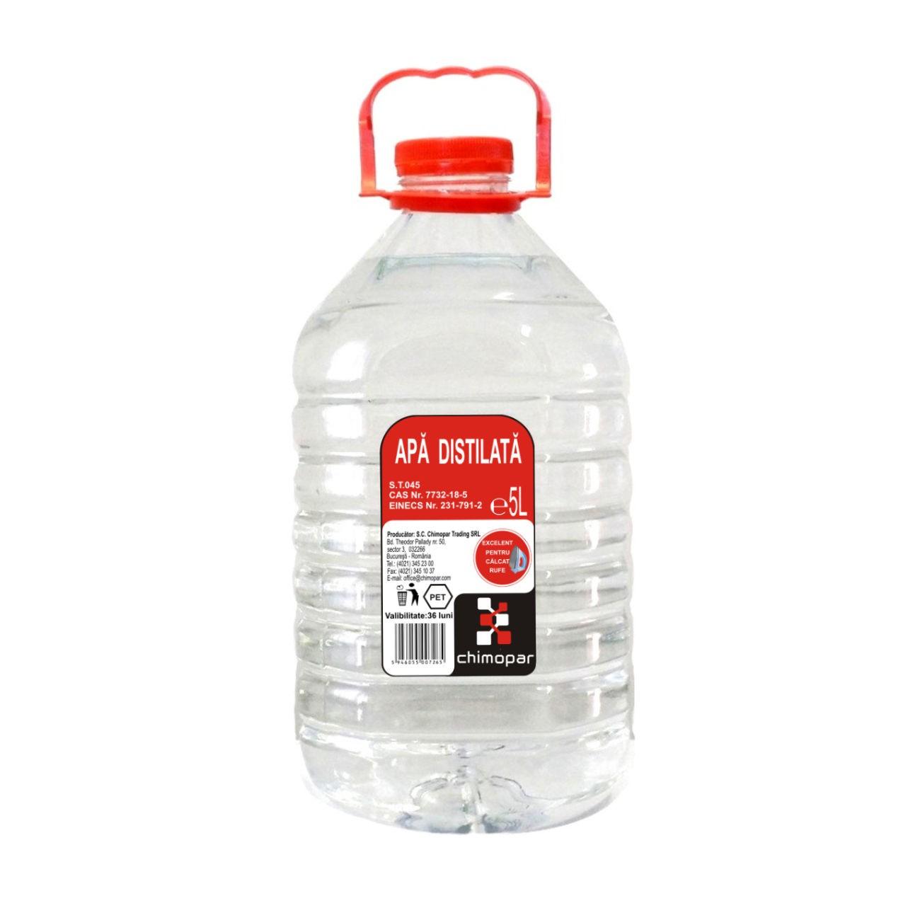 apă distilată și vedere medicament de recuperare a vederii