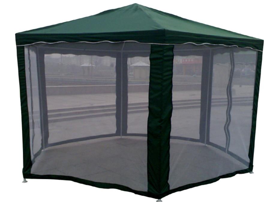 Dedeman Pavilion Gradina Hexagonal Cadru Metalic Verde Latura 1 8 M Dedicat Planurilor Tale