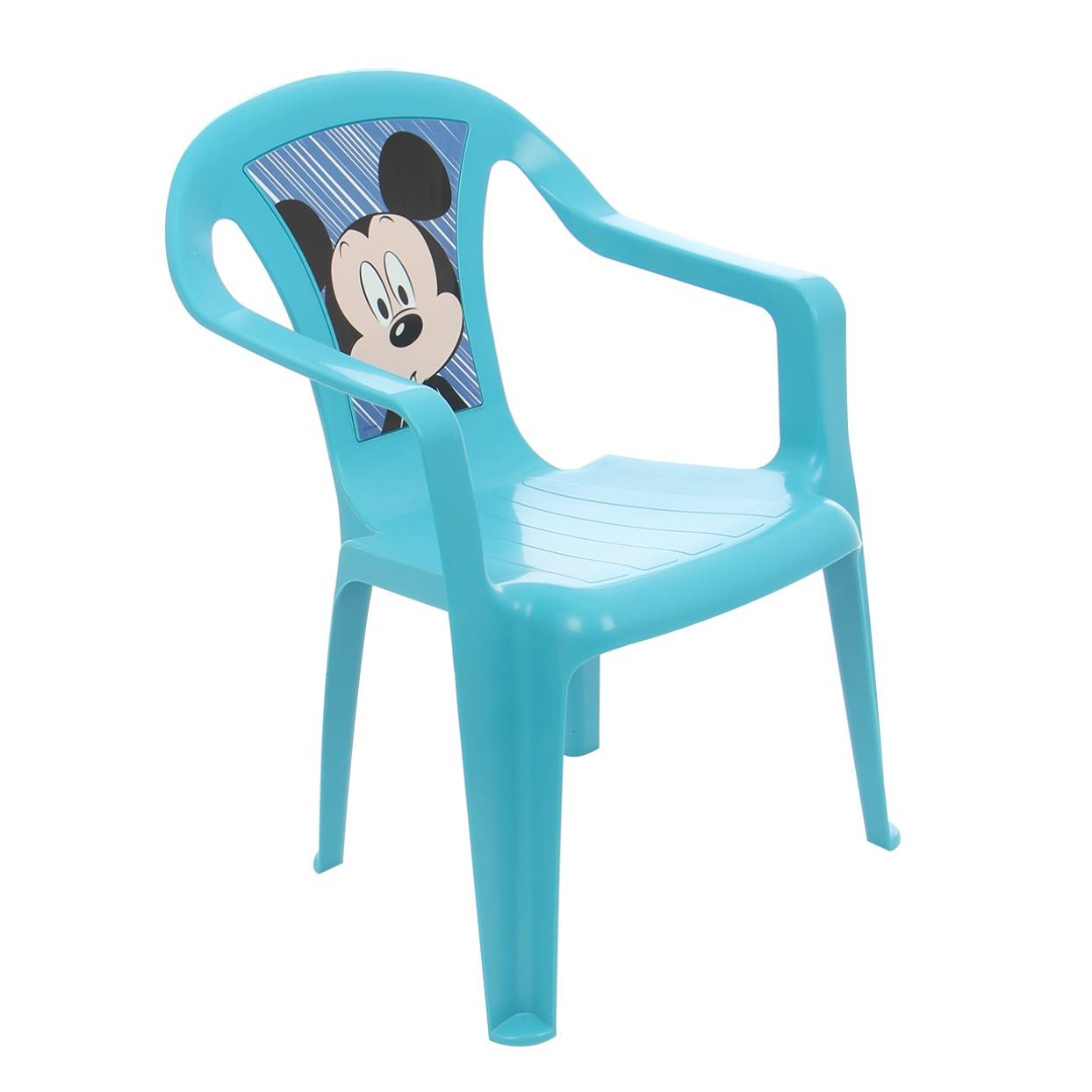 Scaune Din Plastic Pentru Copii.Dedeman Scaun Copii Mickey Bab540mk Pentru Gradina Plastic 38 X