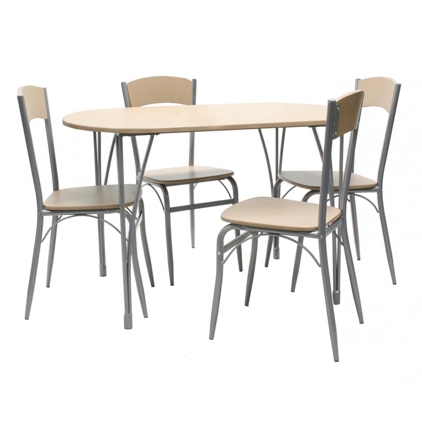 Dedeman set masa fixa cu 4 scaune bucatarie ds26035b for Masa cu scaune dedeman
