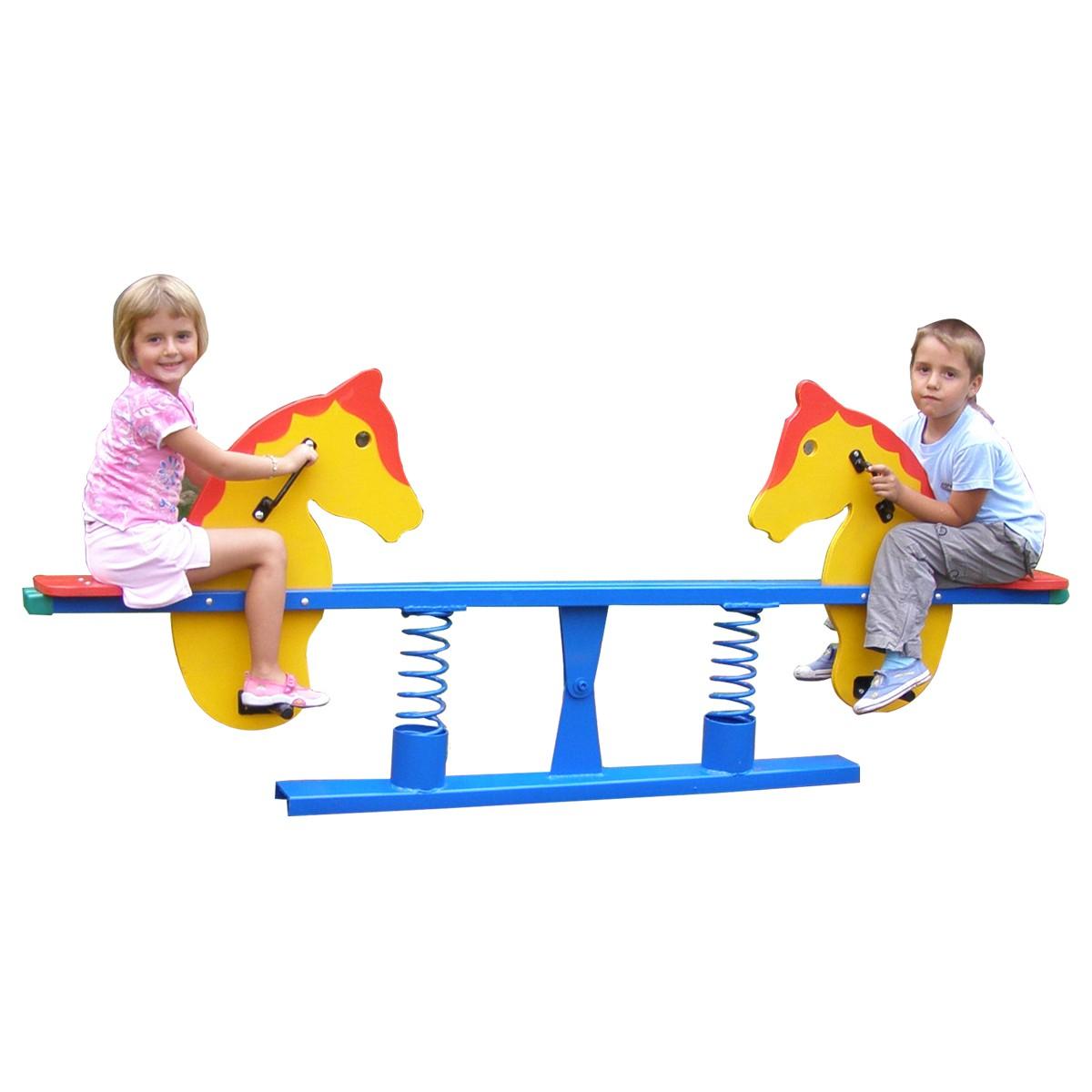 Dedeman Balansoar Copii Calut Cu Arc Structura Metalica Exterior 210 X 36 X 901 Cm Dedicat Planurilor Tale
