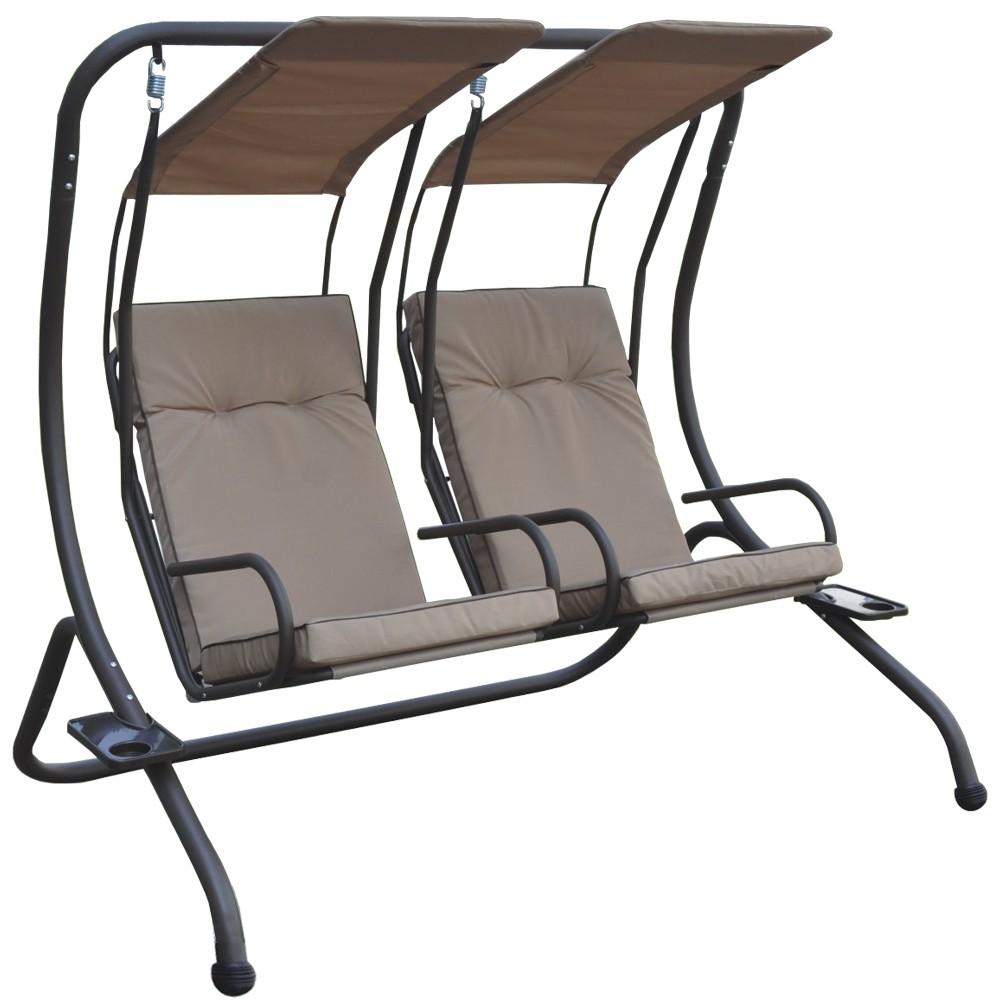 Dedeman Balansoar Gradina Confort 2 Persoane Structura Metal 170 X 136 X 170 Cm Dedicat Planurilor Tale