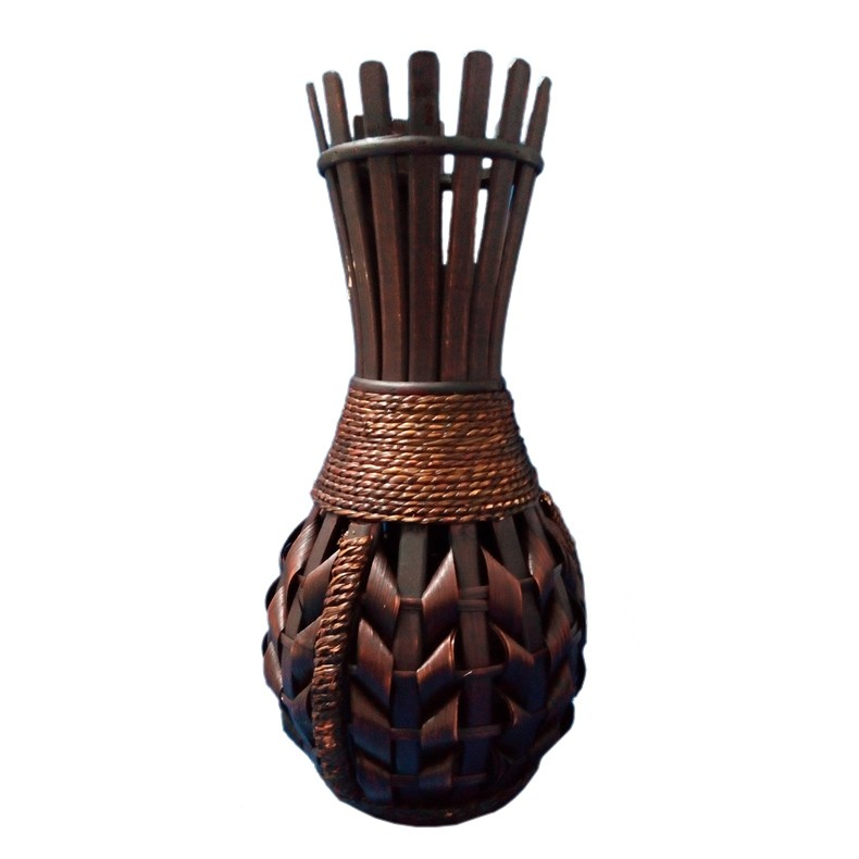Dedeman Vaza Din Bambus 44 Cm Maro D166 Dedicat Planurilor Tale