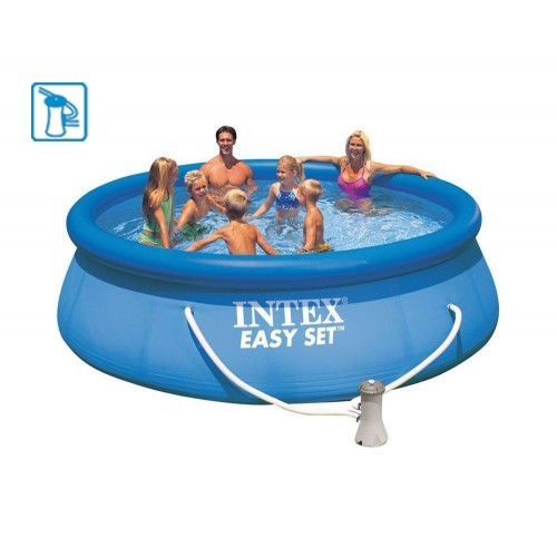 dedeman piscina gonflabila intex easy set 28142np cu pompa