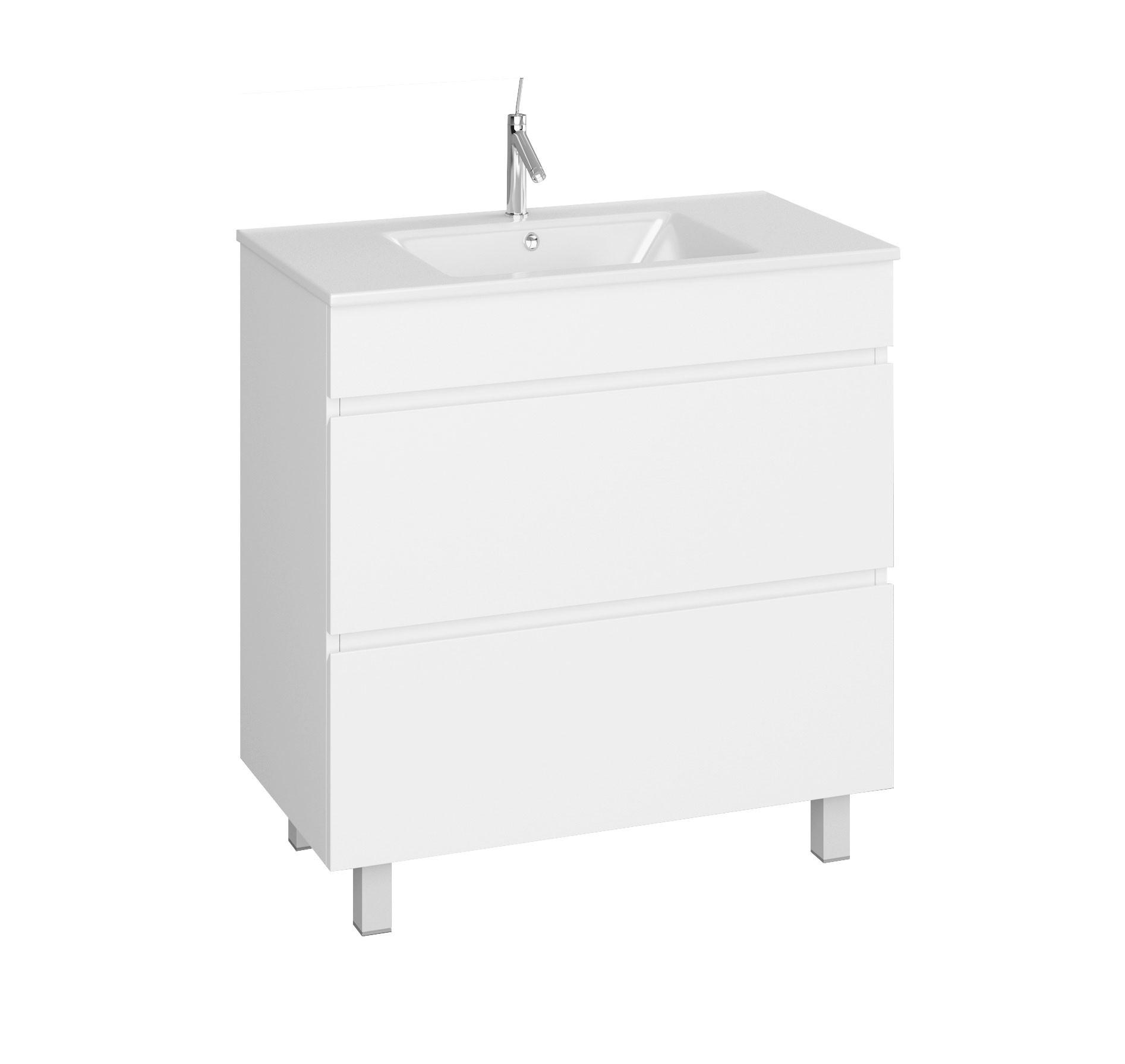 Dedeman Masca baie pentru lavoar, Martplast Combo 810, cu sertare